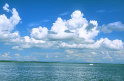 DaLI Lake in Inner Mongolia. In summer Royalty Free Stock Photos