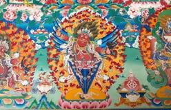 Dali Monastery, Darjeeling, India Royalty Free Stock Images