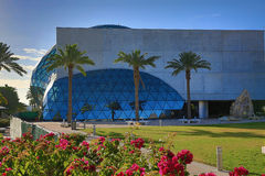 The Dali Museum. Dali museum in St. Petersburg, Florida stock photography