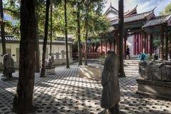 Dali Museum, Dali Old Town, Yunnan province, China stock image
