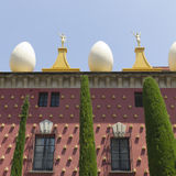 Dali Museum in Figueres, Spain Royalty Free Stock Photos