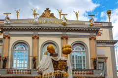 Dali Museum in Figueres. Royalty Free Stock Images