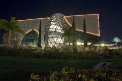 Dali Museum på natten Royaltyfria Foton