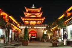 Dali Old City Gate At Night. Old City Gate at night Dali China Stock Photos