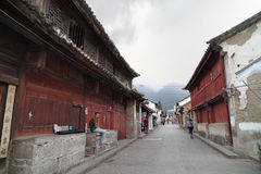Dali old town street view Royalty Free Stock Photos