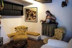 Dali Residence Cadaques, Spanje Stock Afbeeldingen