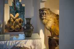 Dali Residence Cadaques, Spanje Stock Foto