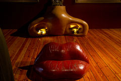 Dali's Mae West Royalty Free Stock Photography