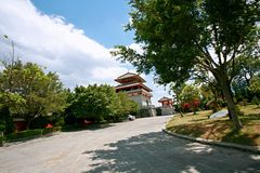 Dali story. The ancient city of Dali is located in the western part of Yunnan Province, also known as ye Yu Cheng and purple city. The history of ancient city stock photography