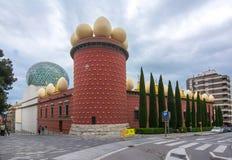 Dali Theatre e museu em Figueres, Espanha imagens de stock royalty free