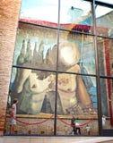 Dali Theatre en Museum in Figueres Royalty-vrije Stock Fotografie