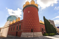 Dali Theatre and Museum in the art city, Barcelona, Spain Stock Photos