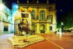 Dali Theatre-Museum bis zum Nacht Stockfotografie