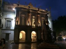 Dali Theatre Museum in Figueras Spain Royalty Free Stock Photos