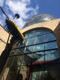 Dali Theatre Museum in Figueras Spanje Royalty-vrije Stock Foto's