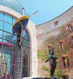 The Dali Theatre and Museum  in Figueres, Catalunia, Spain. Royalty Free Stock Photography