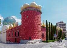 Dali Theatre och museet, Figueres, Spanien Arkivbilder