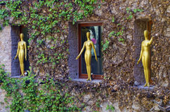 Dali Theatre och museet, Figueres, Spanien Arkivfoto