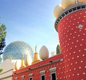 Dali Theatre och museum Royaltyfria Foton