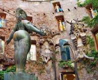 Dali Theatre y el museo, Figueras, España Foto de archivo