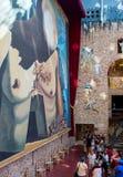 Dali Theatre y museo en Figueras Imagen de archivo