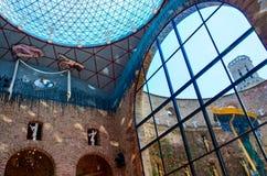 Dali Theatre y museo en Figueras Fotos de archivo