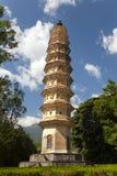 Dali Three Pagodas royalty-vrije stock afbeeldingen