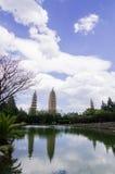 Dali Three Pagodas Stock Photography