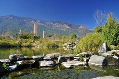 Dali, Yunnan, China. Chongsheng temple pagoda Royalty Free Stock Images