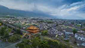Dali yunnan china landscape. Jinghong tower in xishuangbanna yunnan china Royalty Free Stock Photography
