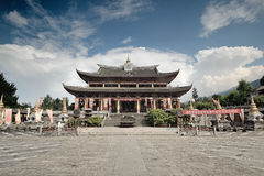 Dali Yunnan-Film and Television city buildings Stock Photography