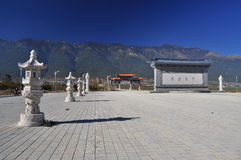Dali, Yunnan province, China. Chongsheng temple Stock Photography