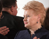Dalia Grybauskaite Stock Photography