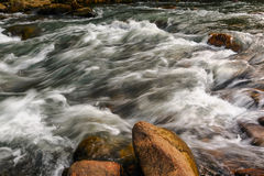 Dalian Bingyu Valley brook Royalty Free Stock Images