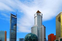 Dalian, China. Friendship square. Stock Photography