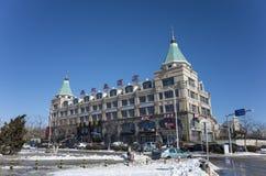 Dalian cityscape in winter Stock Image