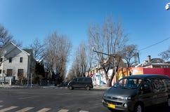 Dalian cityscape in winter Stock Photography