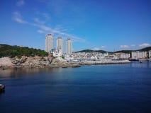 Dalian Gold Coast. Dalian has a beautiful sea called the gold coast Royalty Free Stock Images
