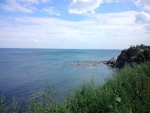 Dalian Gold Coast. Dalian has a beautiful sea called Gold Coast Royalty Free Stock Photo
