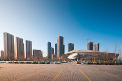 Dalian International Conference Center. Stock Photography