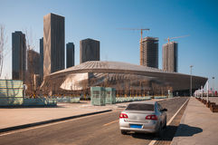 Dalian International Conference Center Stock Image
