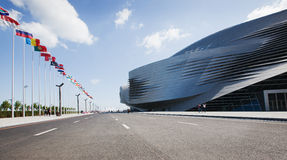 dalian international conference center Stock Photography