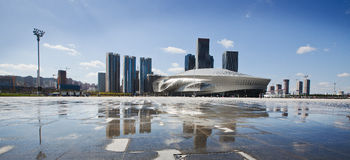 Dalian international conference center Royalty Free Stock Photos