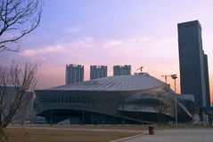 Dalian International Meeting Centre Royalty Free Stock Image