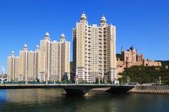 Dalian Miasta ï ¼ Chiny Fotografia Stock