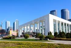 Dalian modern museum in Dalian city Royalty Free Stock Photos