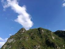 Daliangshan-Landschaft lizenzfreies stockfoto