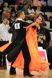 Dalibor Divis & Dominika Tynklova - dancing Stock Photos