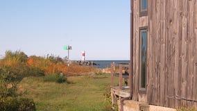 Daling op het Meer Ontario stock fotografie