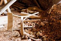 Daling in ruïne Royalty-vrije Stock Fotografie